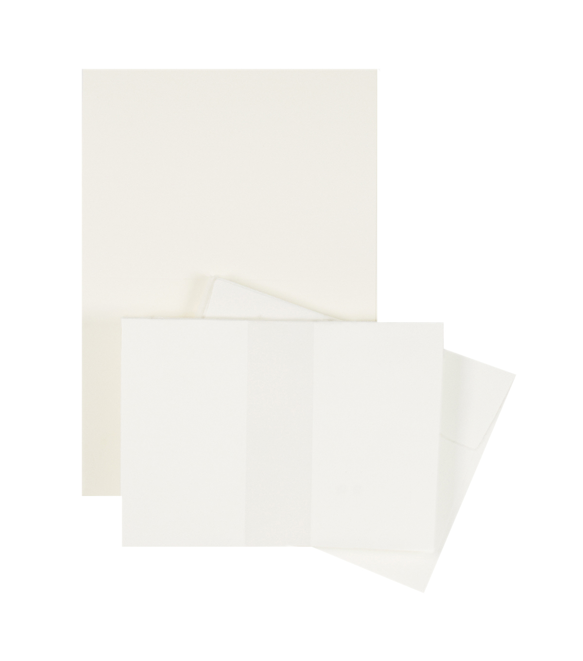 Park Lane 50 pk A2 Cards & Envelopes-Ivory