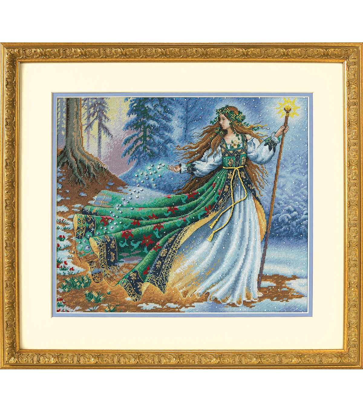 Dimensions Gold Collection Counted Cross Stitch Woodland Enchantress