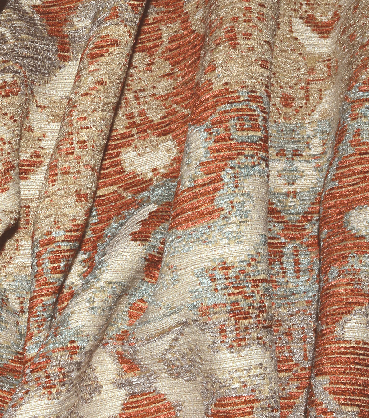 P/K Lifestyles Multi-Purpose Decor Fabric 56\u0022-Woven Narrative Sunset