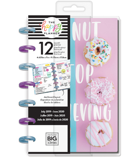 The Happy Planner 12-Month Dated Mini Planner-Sprinkle Kindnes