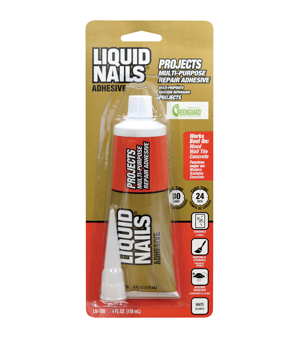 M-D Hobby & amp; amp;amp; Craft 4oz Liquid Nails Repair Adhesive-Small Projects