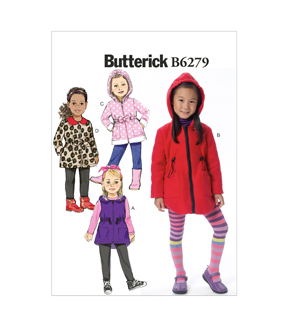 Butterick Child Outerwear-B6279