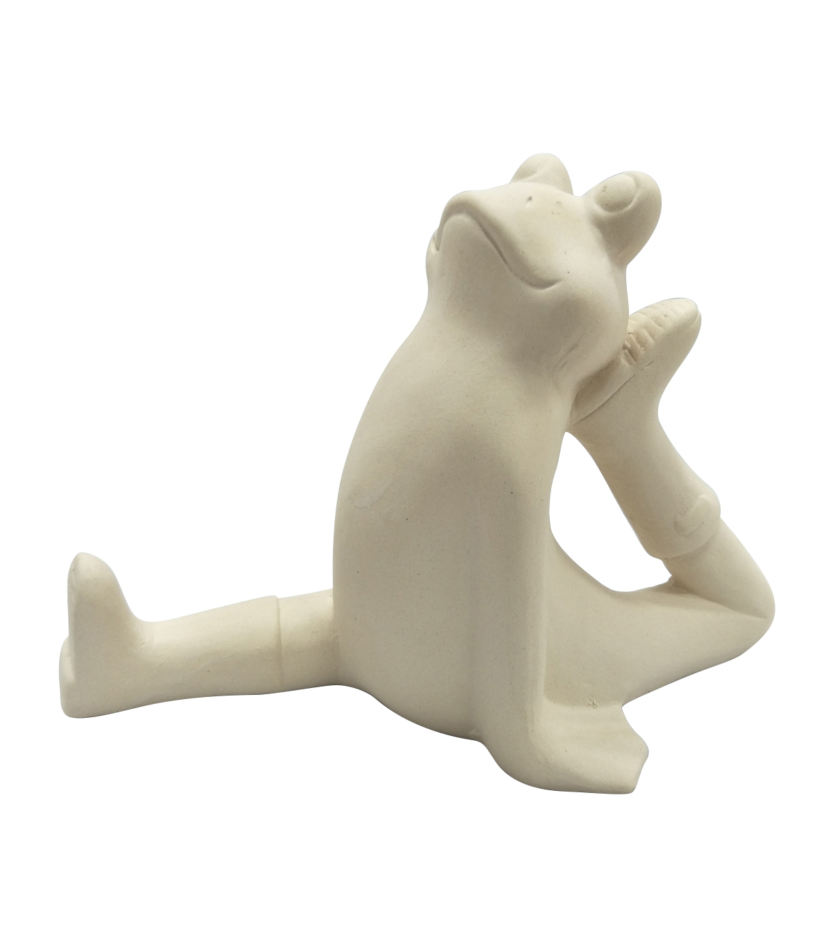 Simply Spring Ceramic Yoga Frog Split Pose