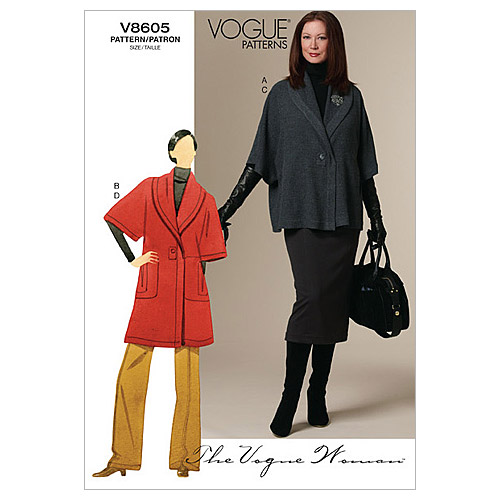 Mccall Pattern V8605 Bb (8-10-1-Vogue Pattern