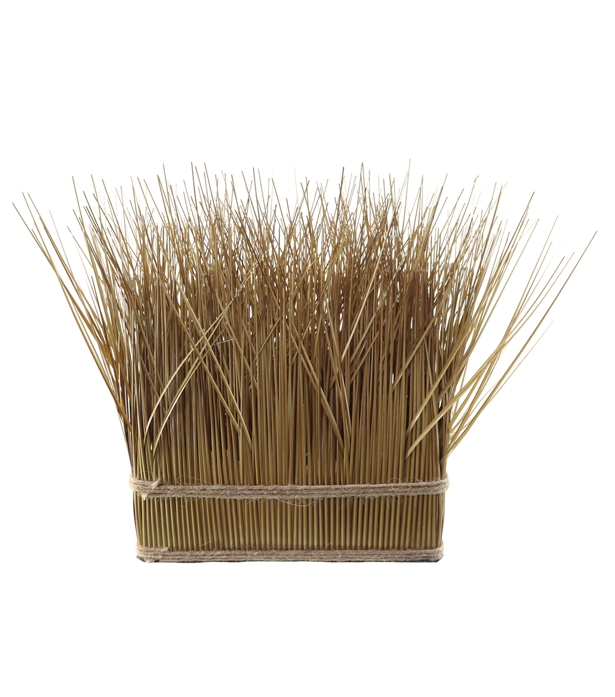 Blooming Autumn Oblong Grass Arrangement-Natural