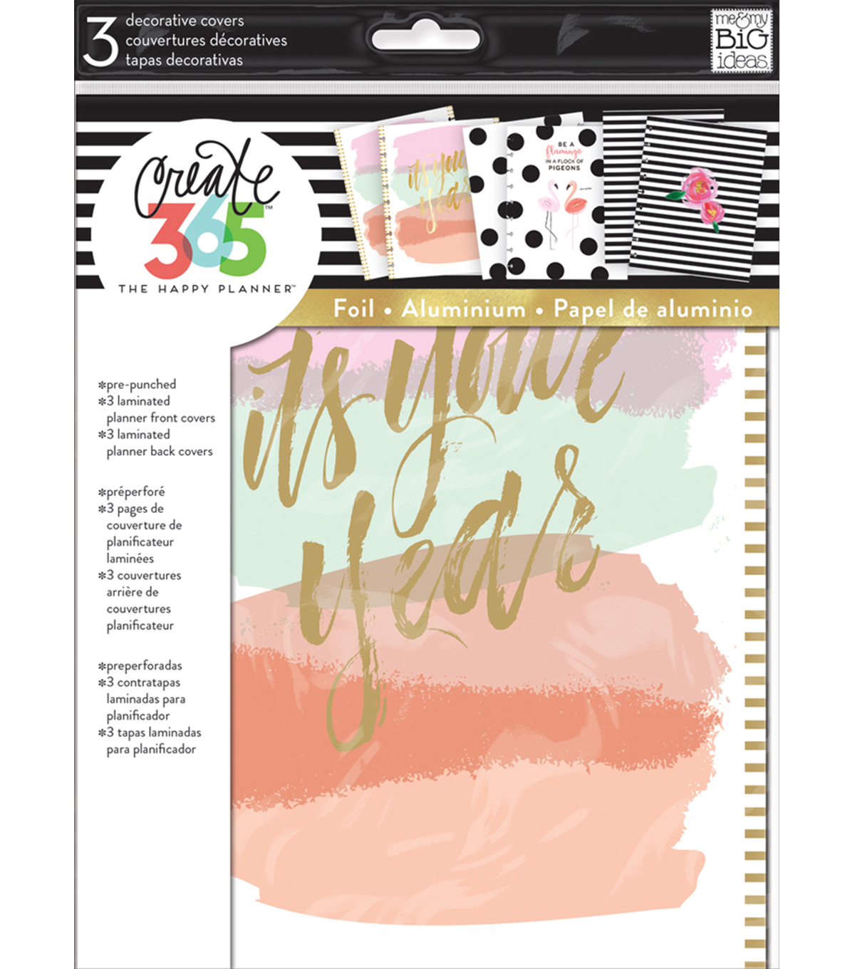 The Happy Planner Planner Covers-It\u0027s Your Year