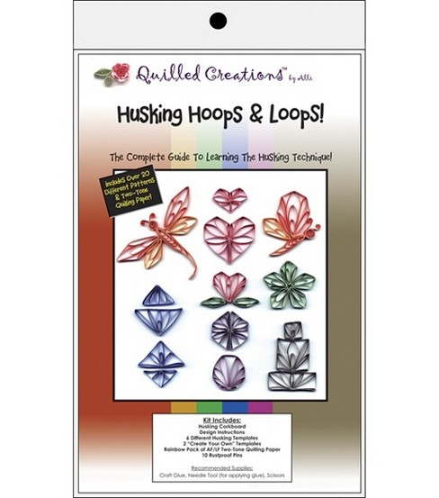 Quilled Creations Husking Hoops & Loops Quilling Kit