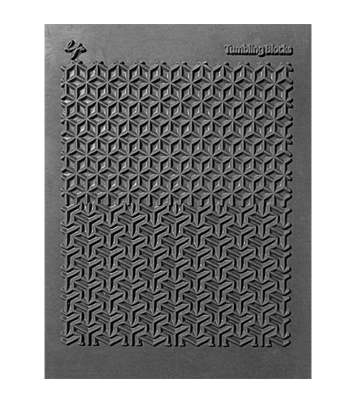 Great Create Pavelka Texture Stamp - Tumbling Blocks