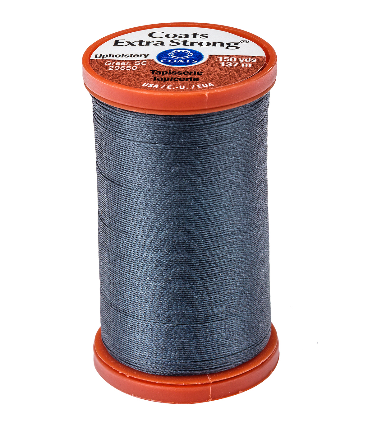 Coats & Clark Extra Strong & Upholstery Thread 150 yd , Navy
