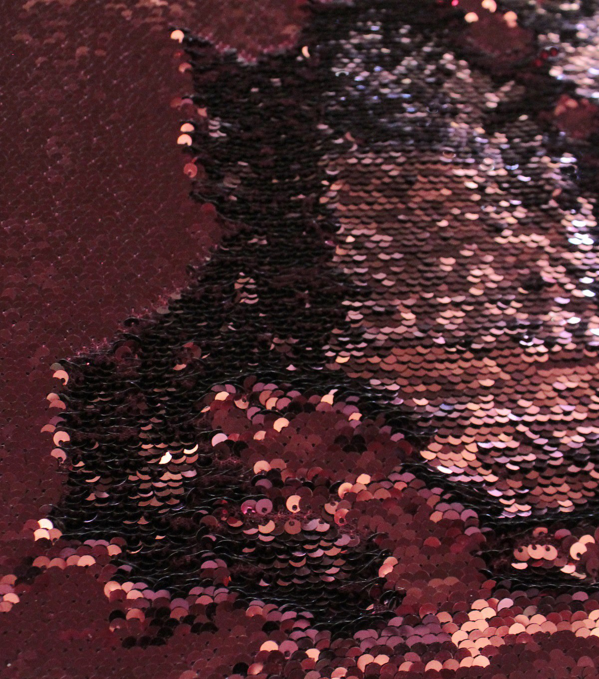 Casa Embellish Ember Sequin Fabric-Sequin on Port Royale