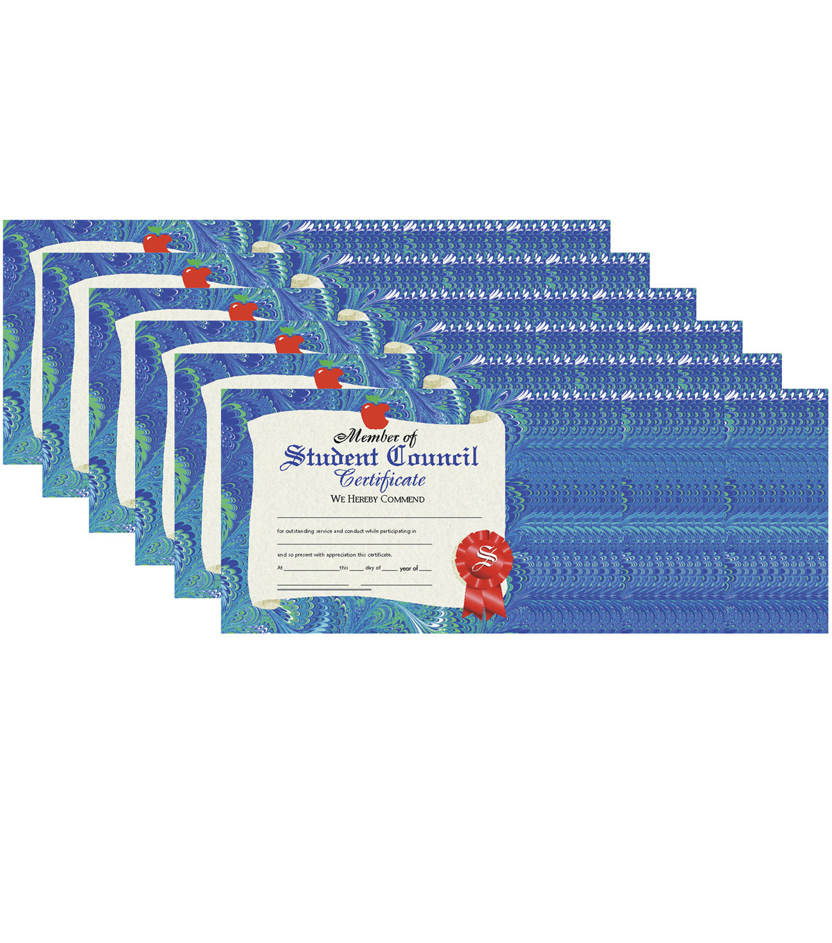 hayes member of student council certificate  30 per pack
