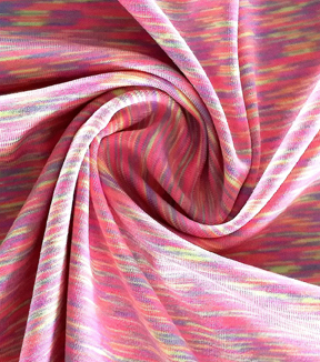 Loungeletics Jersey Performance Fabric 58\u0022-Space Dye Pink