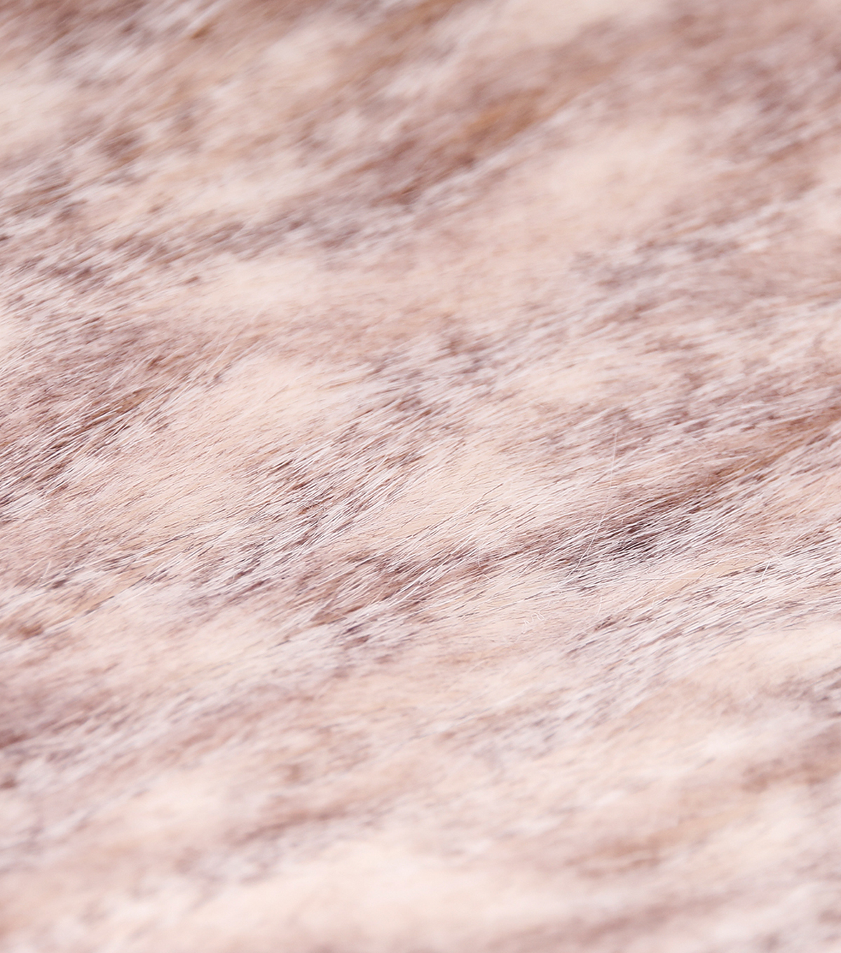 Faux Fur Fabric -Gray Feather