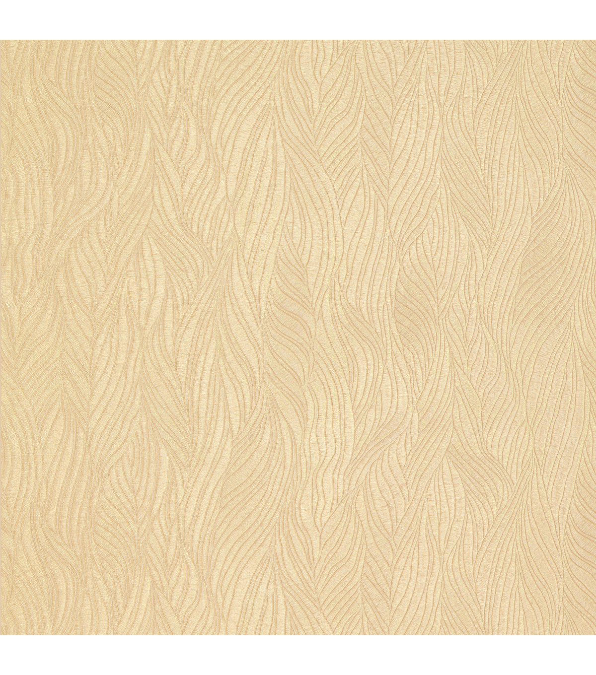 Nephi Gold Swirling Texture Wallpaper Sample