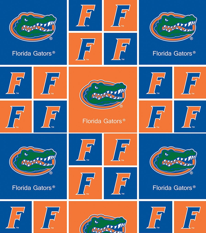 university of florida gators cotton fabric 43 block joann