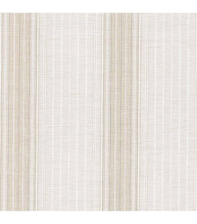 Natuche Light Grey Linen Stripe Wallpaper