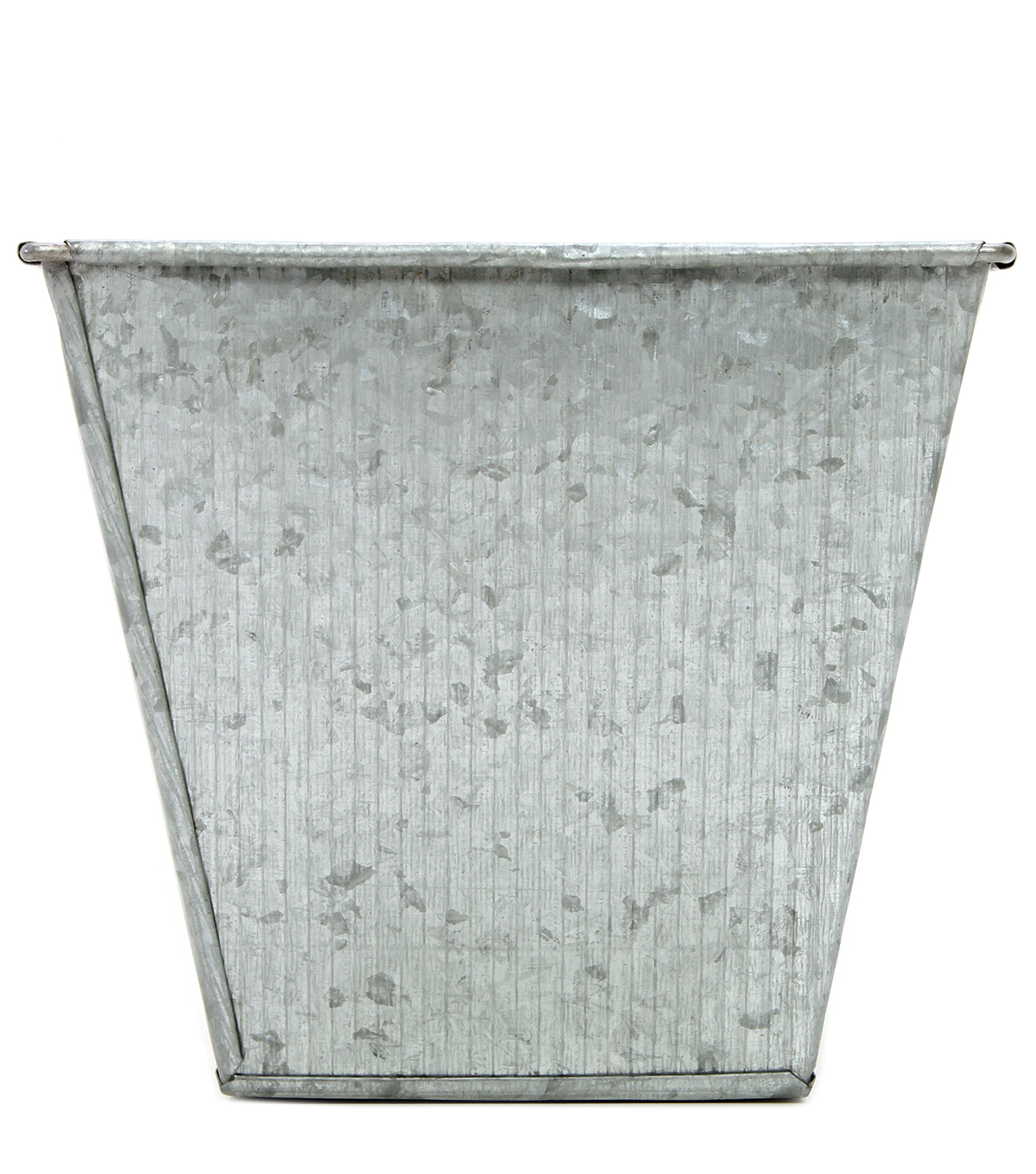 Galvanized Square Planter 7\u0027\u0027