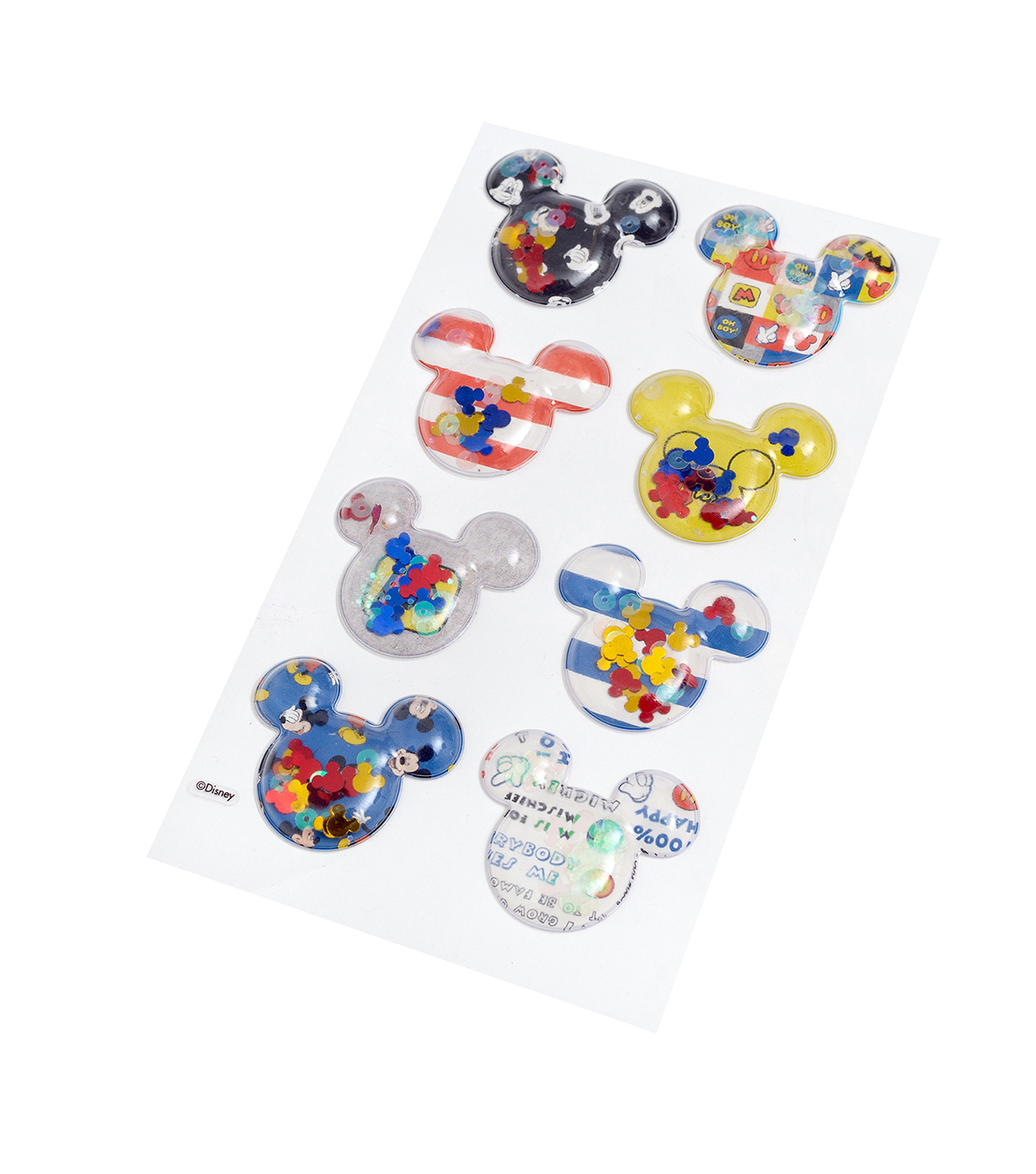 American Crafts Stickers-Mickey Shaker