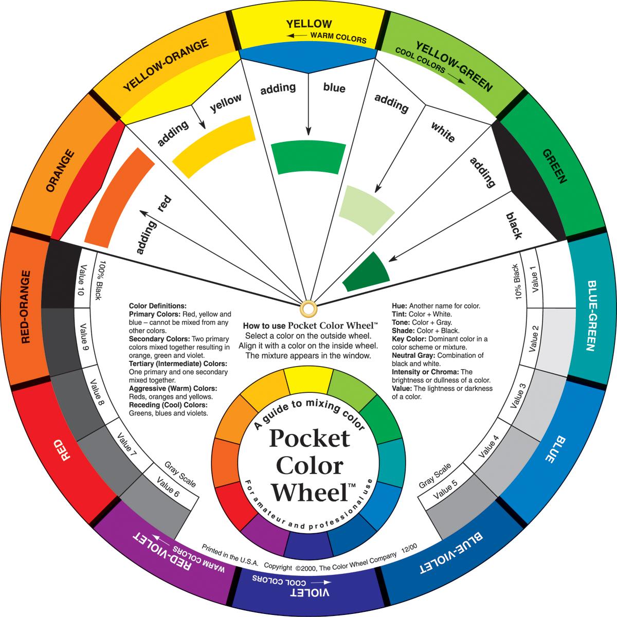 Pocket Color Wheel 5 125 Joann