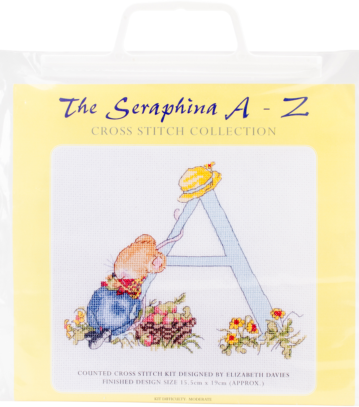 CWOC/Seraphina Counted Cross Stitch Kit 6\u0022X7.5\u0022-A