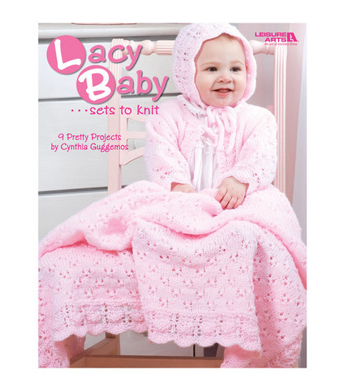 Lacy Baby Sets To Knit