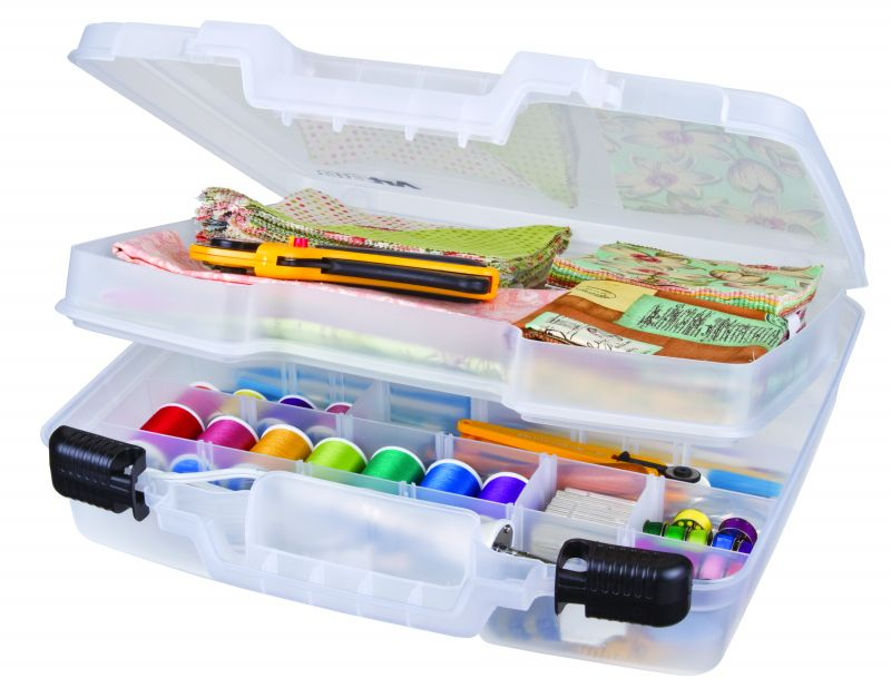 ArtBin Quick View Deep Base Carrying Case-Translucent