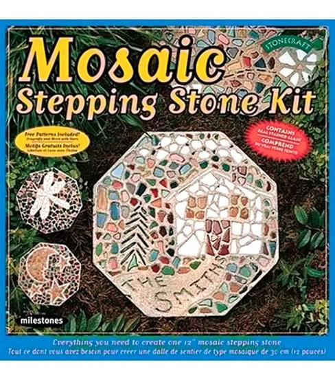 Mosaic stepping stone kit joann mosaic stepping stone kit maxwellsz