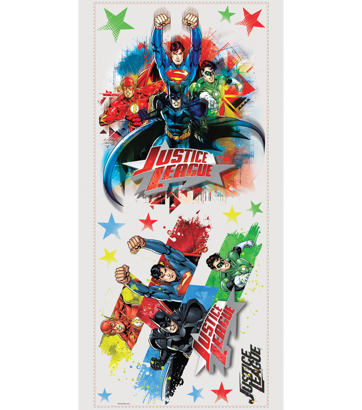 York Wallcoverings Wall Decals-Justice League Giant