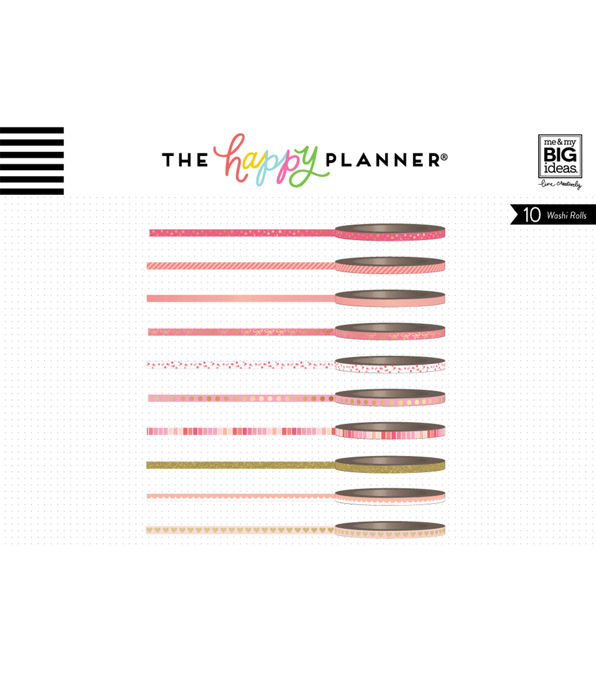The Happy Planner Mini Washi Tape-Pink