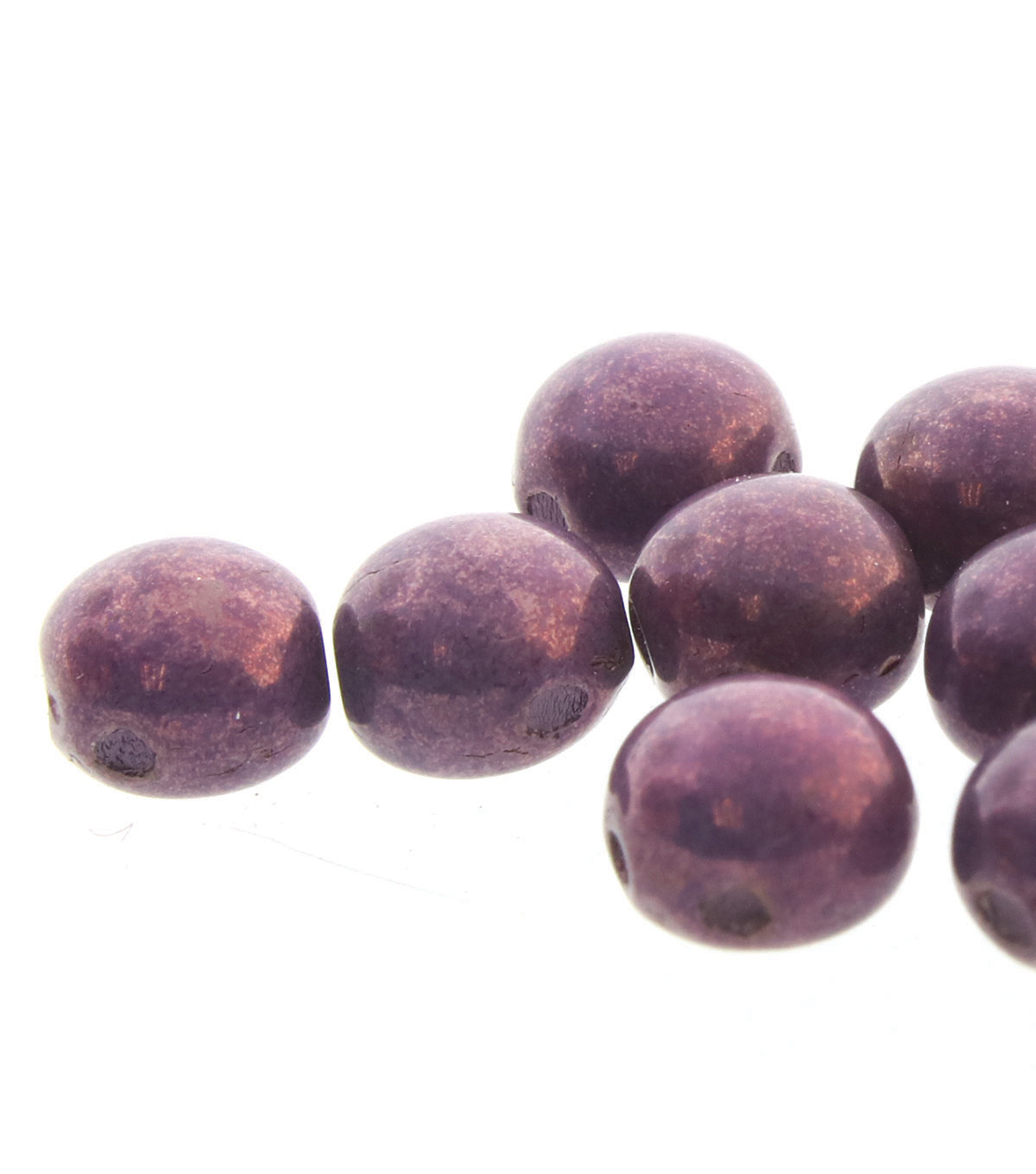 Strung Beads-Purple Vega Candy 8mm