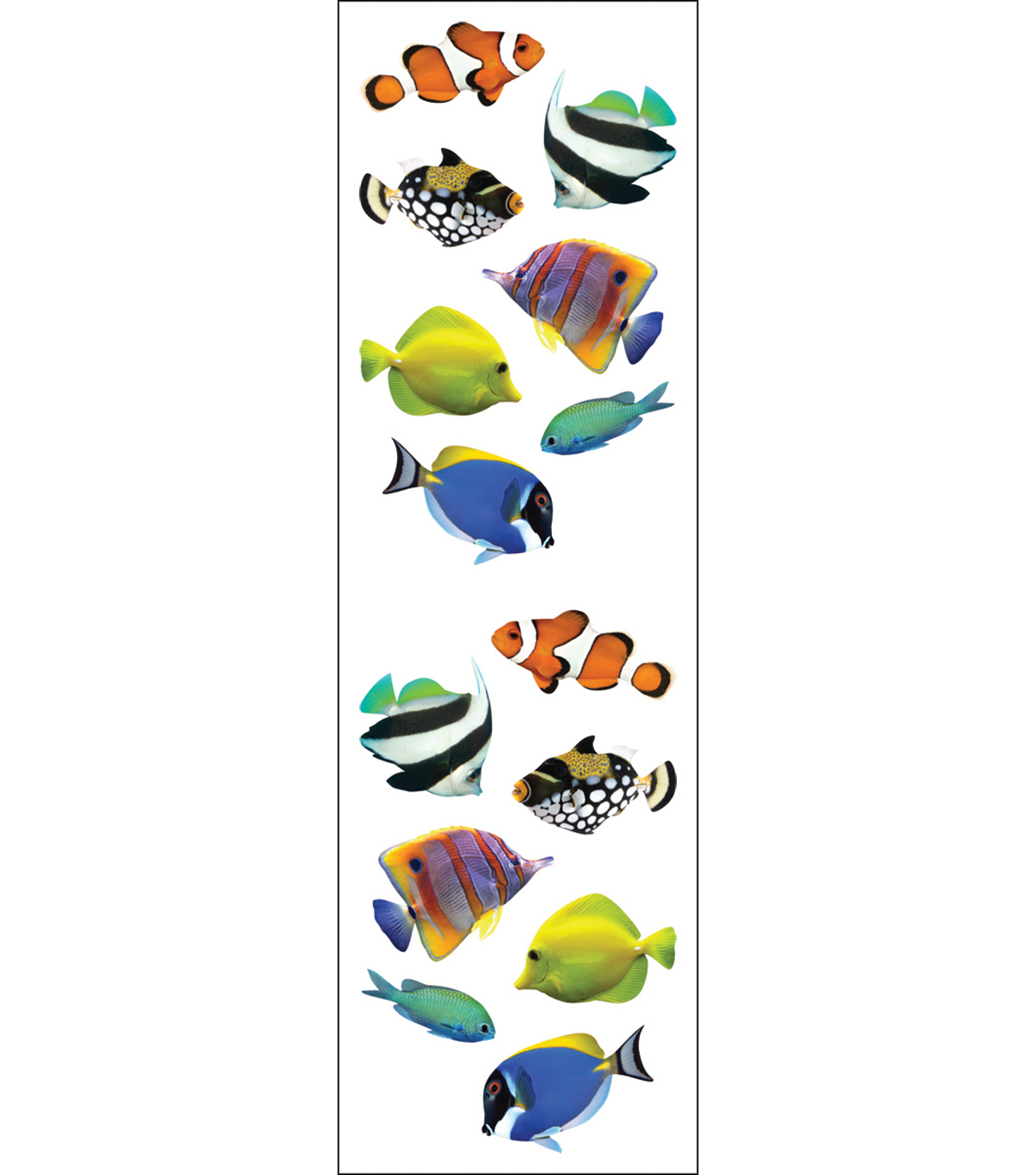 Mrs. Grossman\u0027s Stickers-Tropical Fish