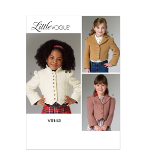 Vogue Patterns Child Jacket-V9142