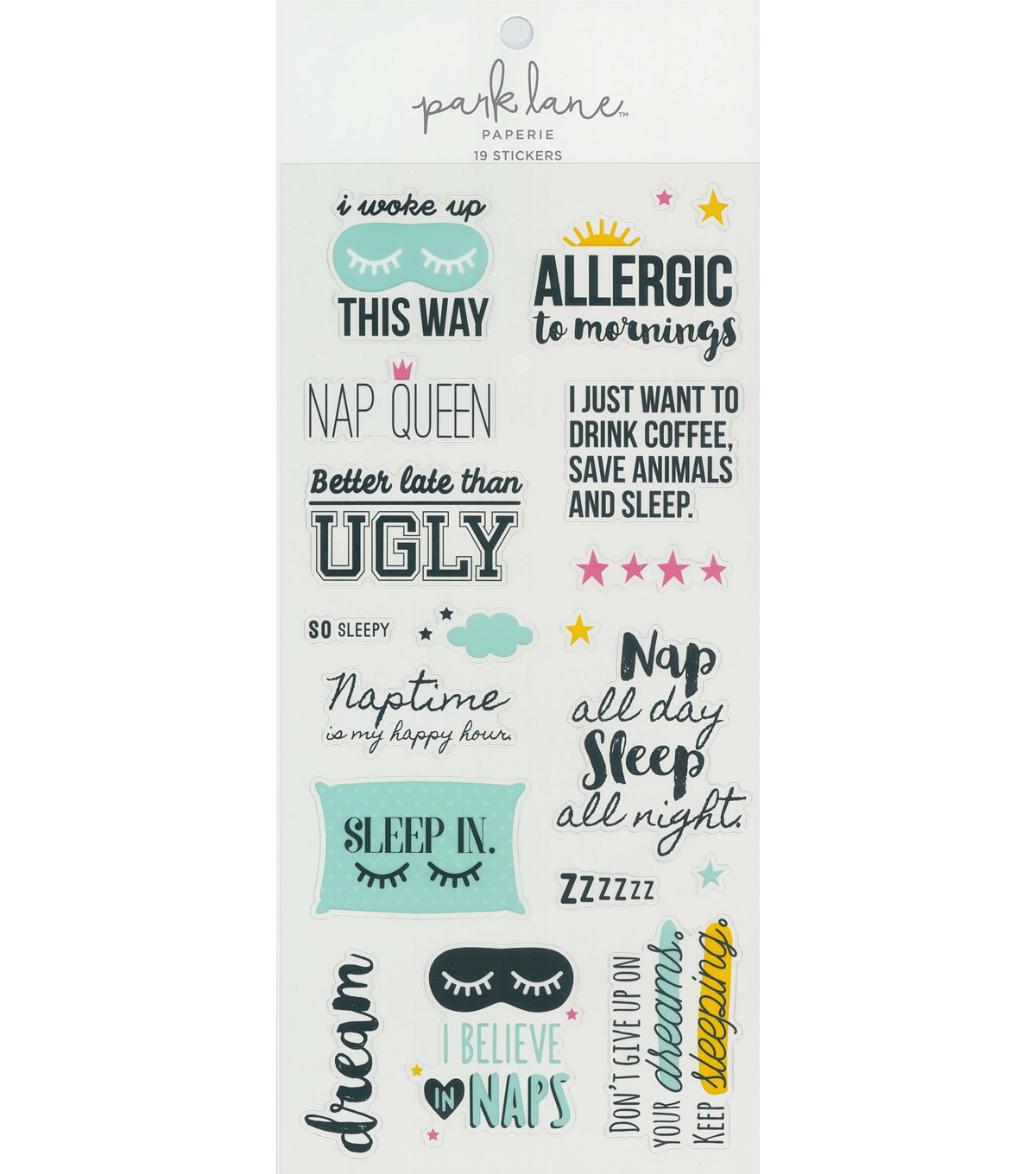 Park Lane Paperie 19 Stickers-Phrases