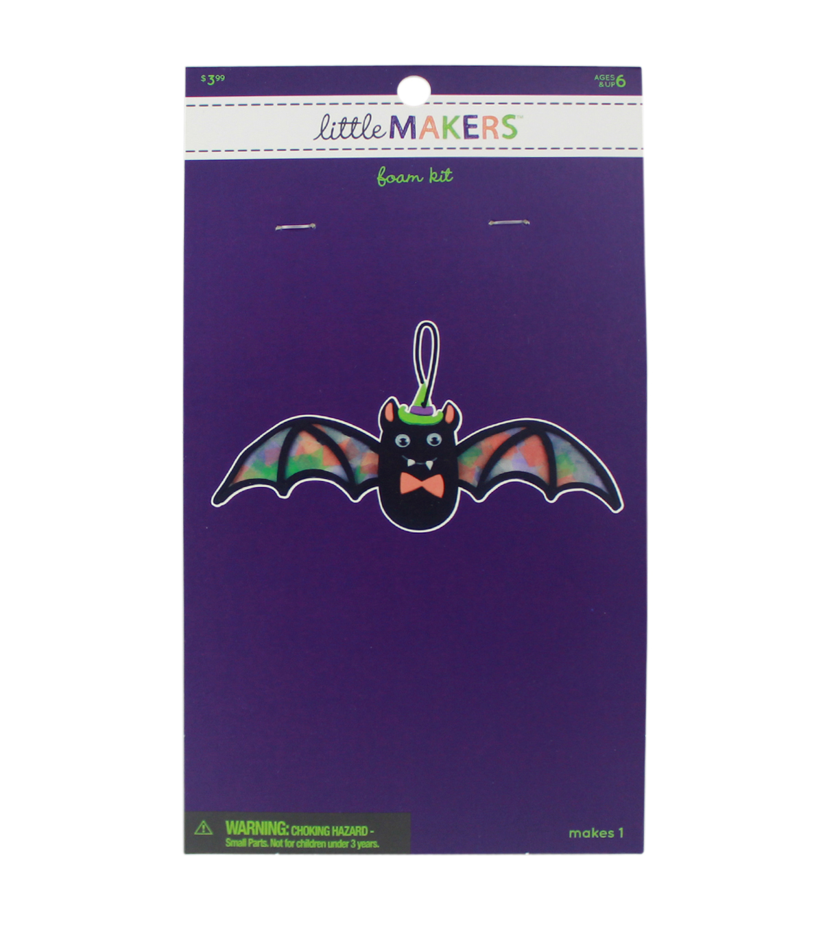 Little Makers Halloween Foam Kit-Bat