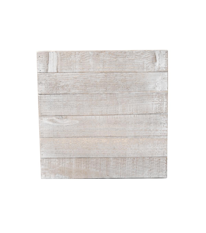 Charmant White Wood 12x12 Plank