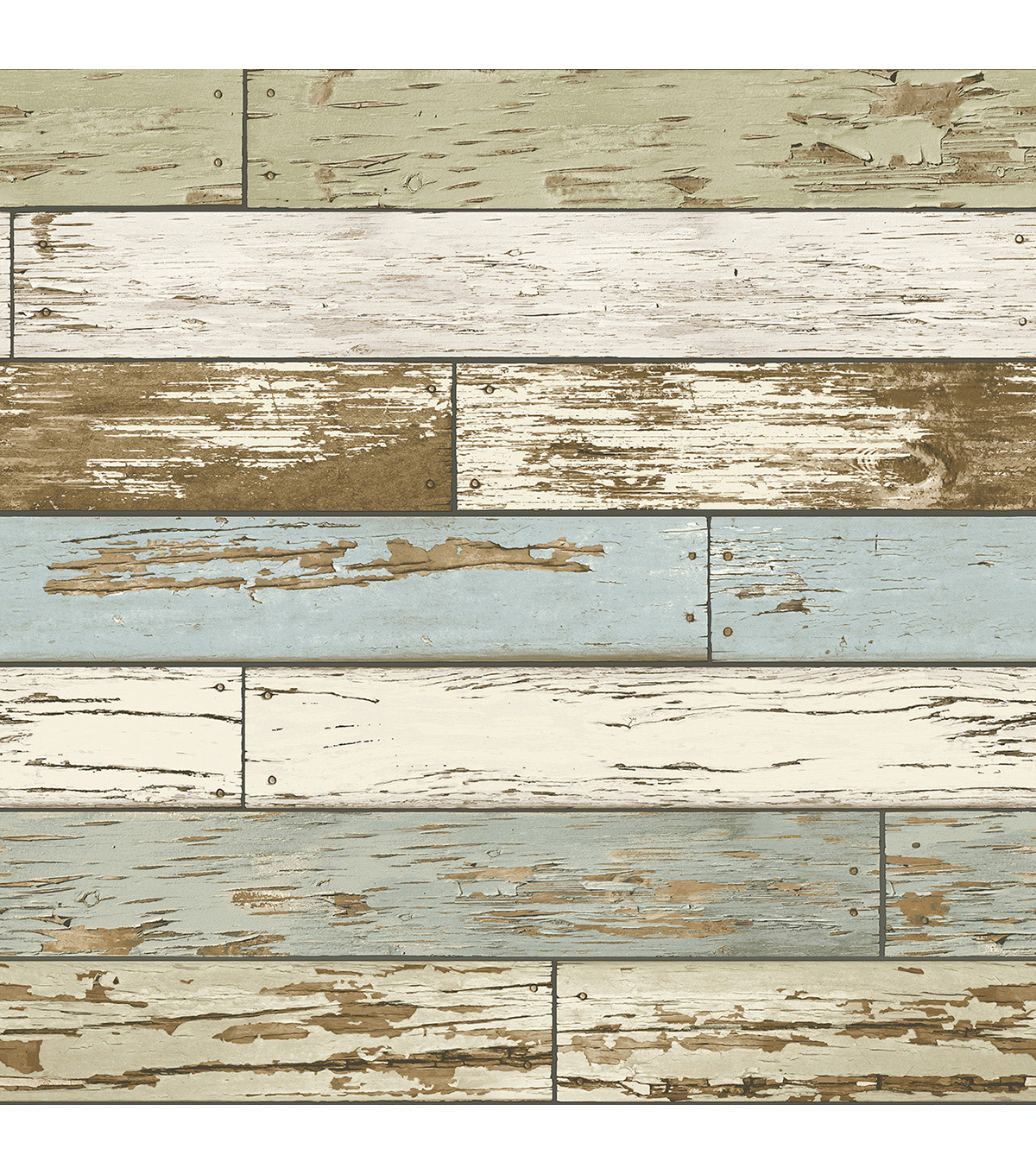 Wallpops NuWallpaper Peel & Stick Wallpaper Swatch 8x10\u0022-Old Salem Vintage Wood
