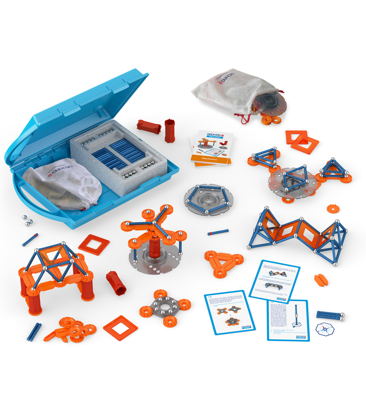 Geomag Education Kit, Mechanics