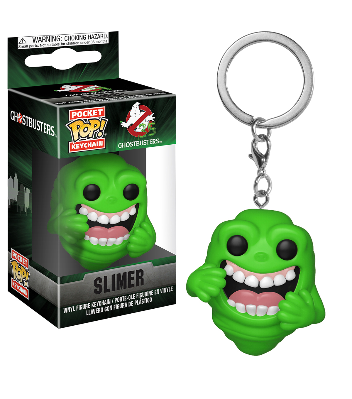 Ghostbusters Slimer Pocket Pop Keychain New in stock
