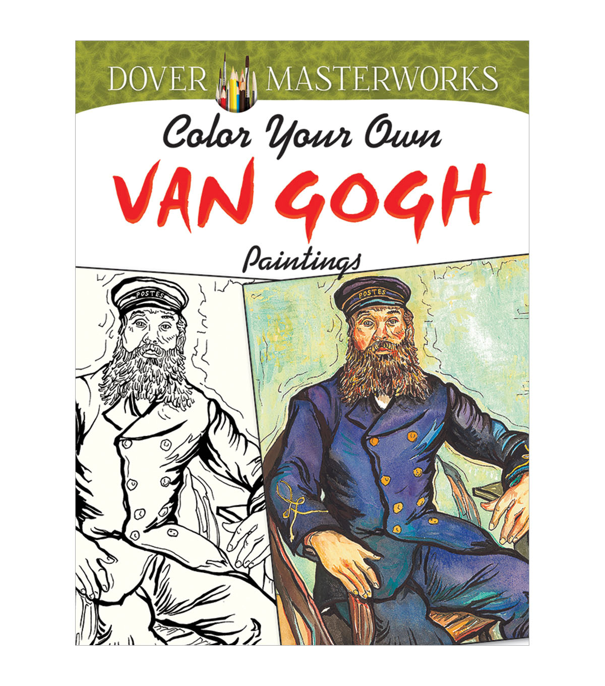 Dover Masterworks Color Your Own Van Gogh Paintings Coloring Book