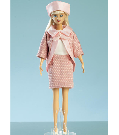 McCall\u0027s Pattern M7520 Gowns, Stole, Dresses, Coats & Hat for Doll