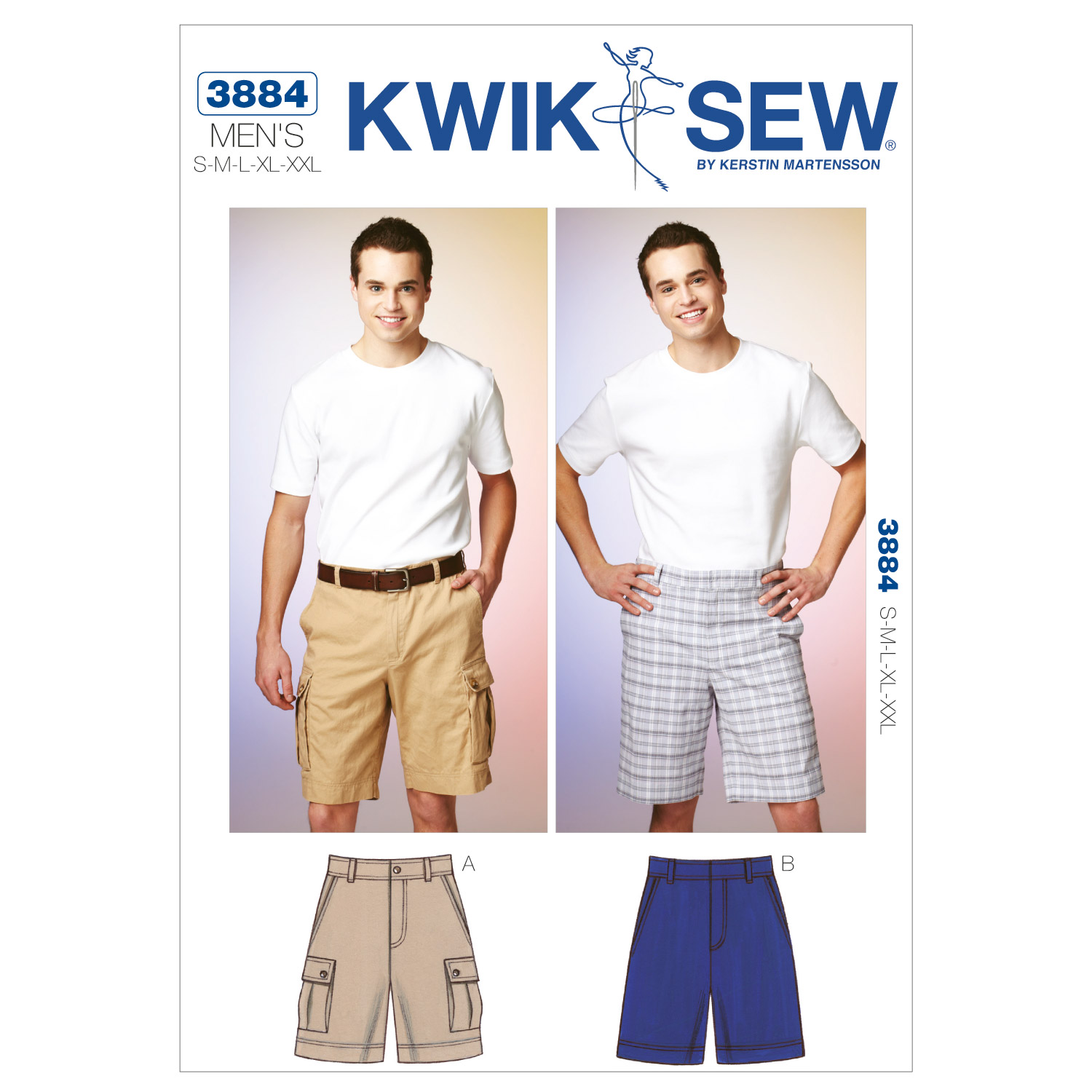 Kwik Sew Mens Pants-K3884