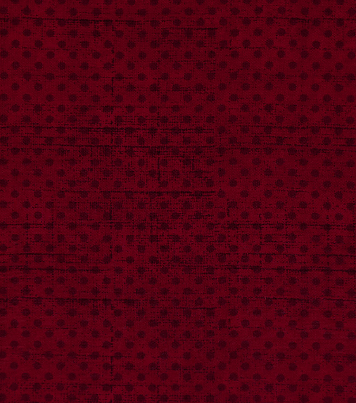Keepsake Calico Cotton Fabric-Burgundy Grunge Mini Dots