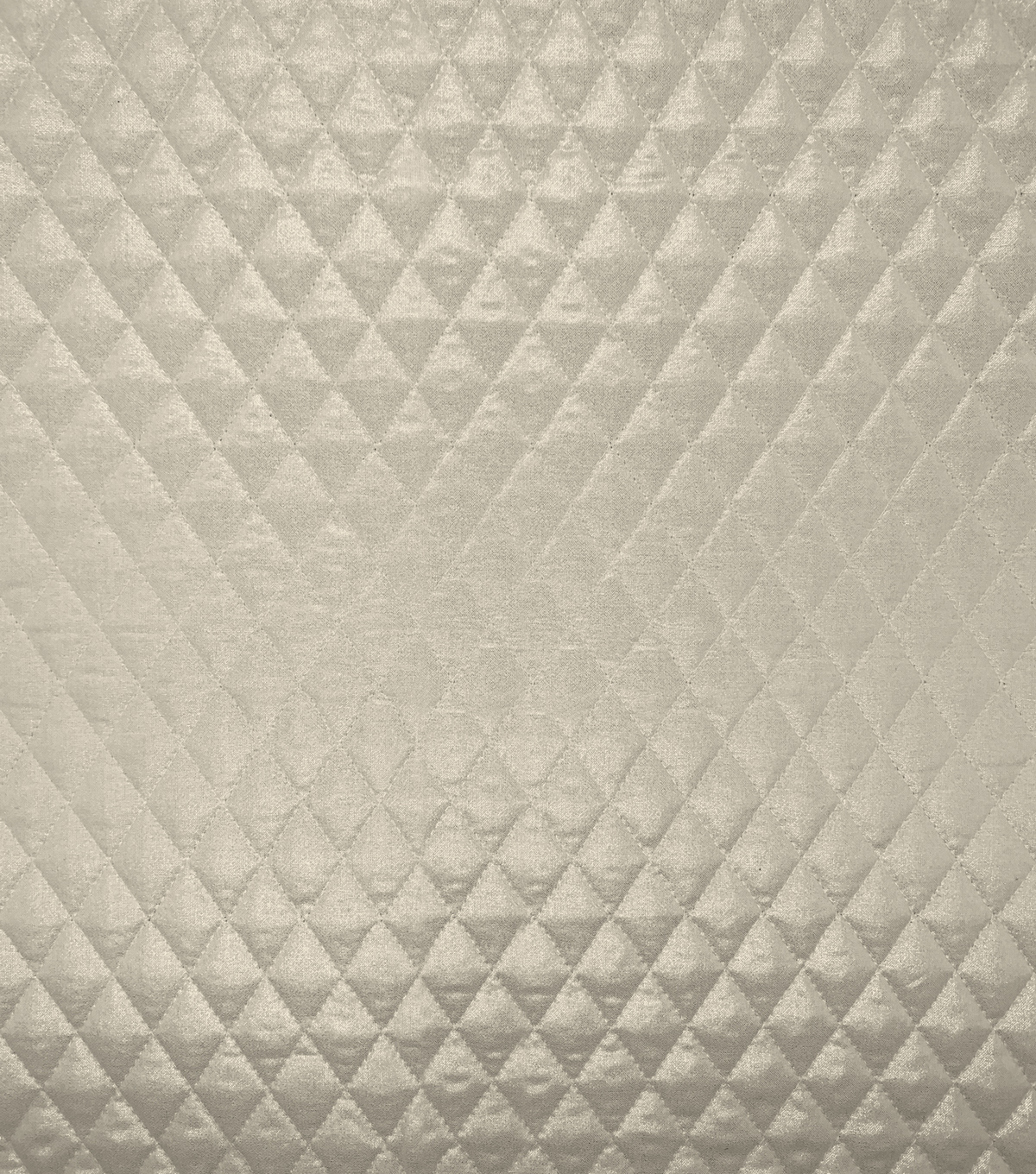 Double Faced Pre-Quilted Cotton Fabric -Diamond Solids, Foil Gold