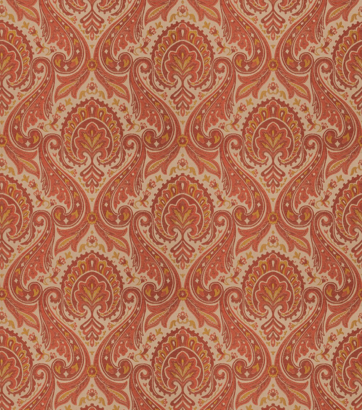 Eaton Square Upholstery Fabric-Ansel/Henna