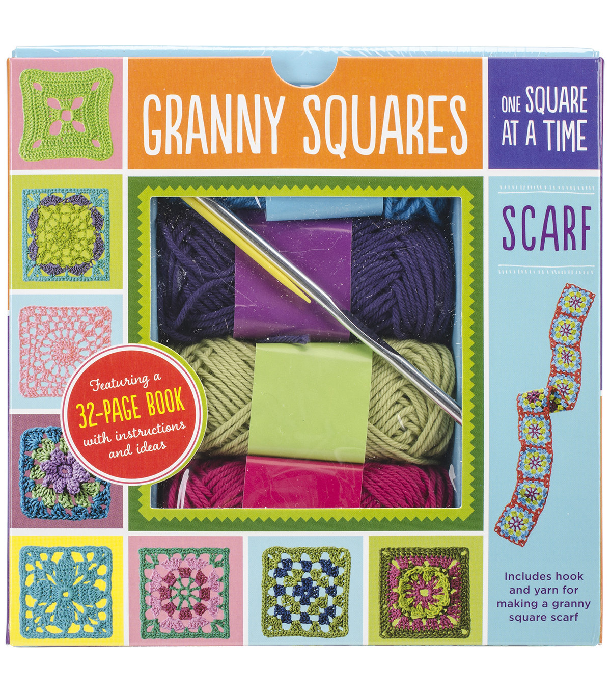 Creative Publishing Granny Squares Scarf Kits