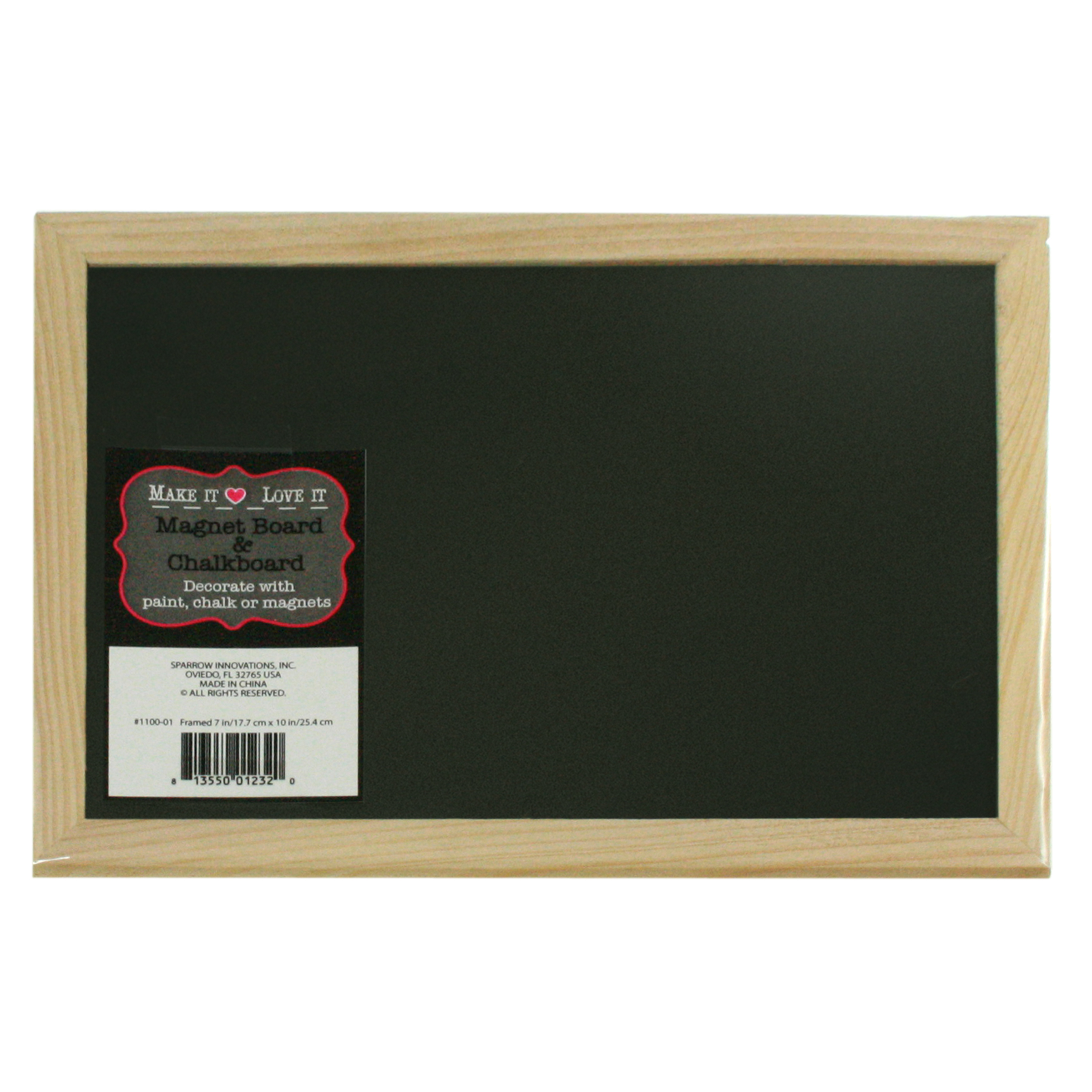 Make It Love It 7\u0022x10\u0022 Magnet Board &Chalkboard
