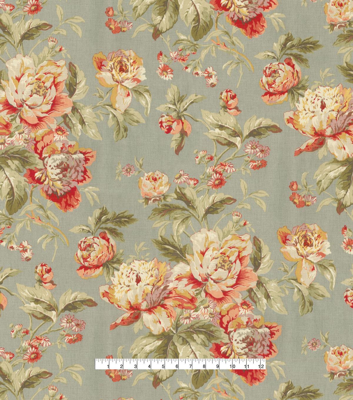 Waverly Upholstery Fabric Fleuretta Slate Joann