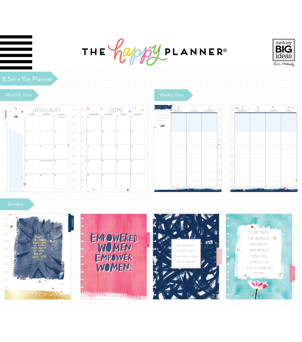 Happy Planner 12 Month Big Planner-The Person I Am