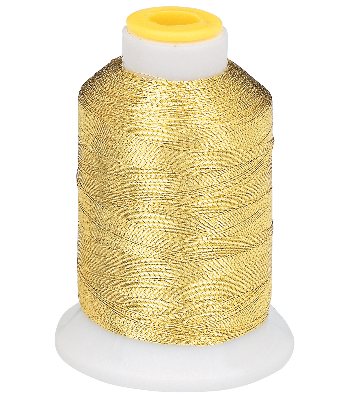 Coats & Clark Metallic Embroidery Thread, Metallic Br. Gold Embroidery T
