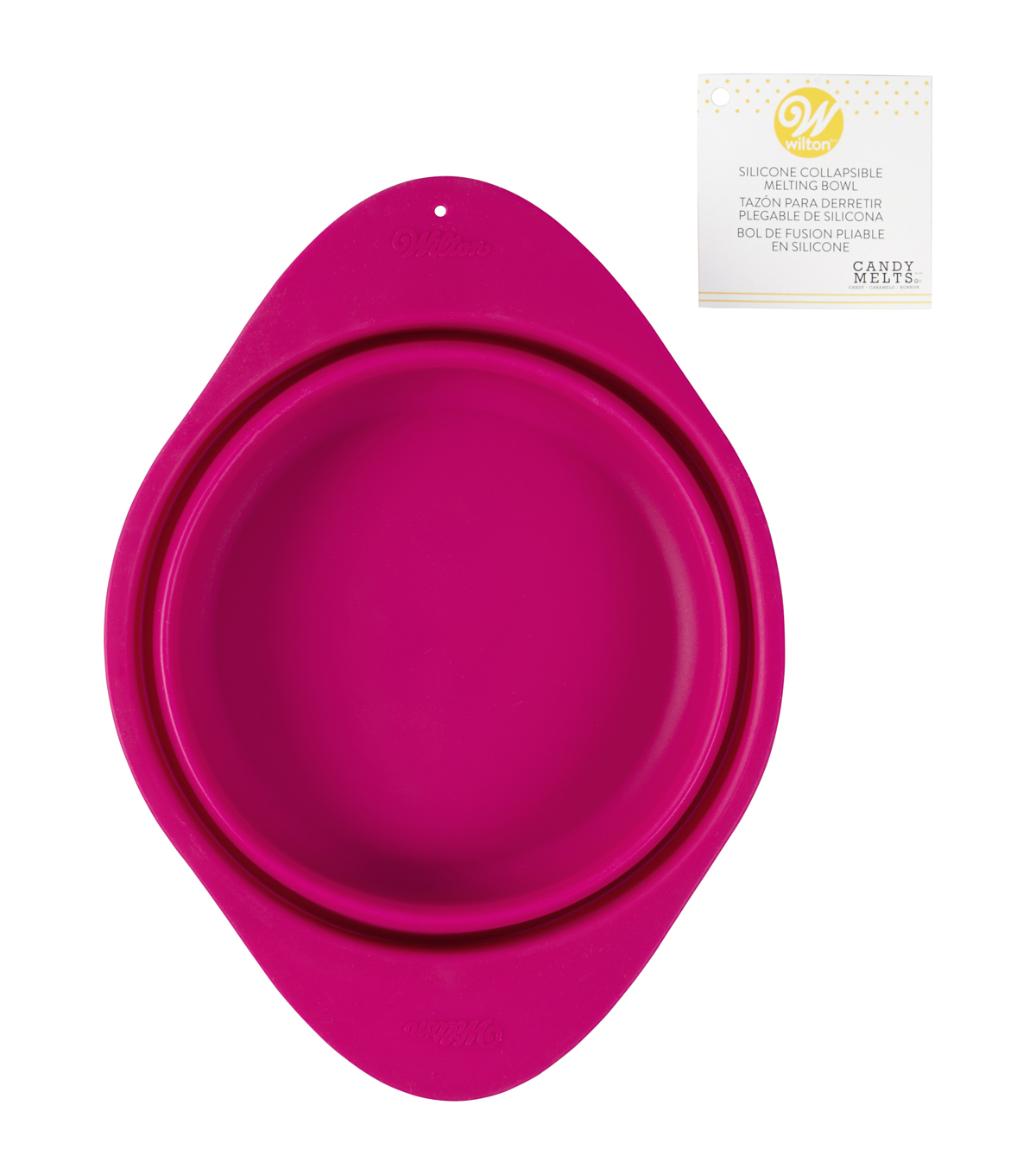 Wilton Candy Melts 24 oz. Silicone Collapsible Melting Bowl